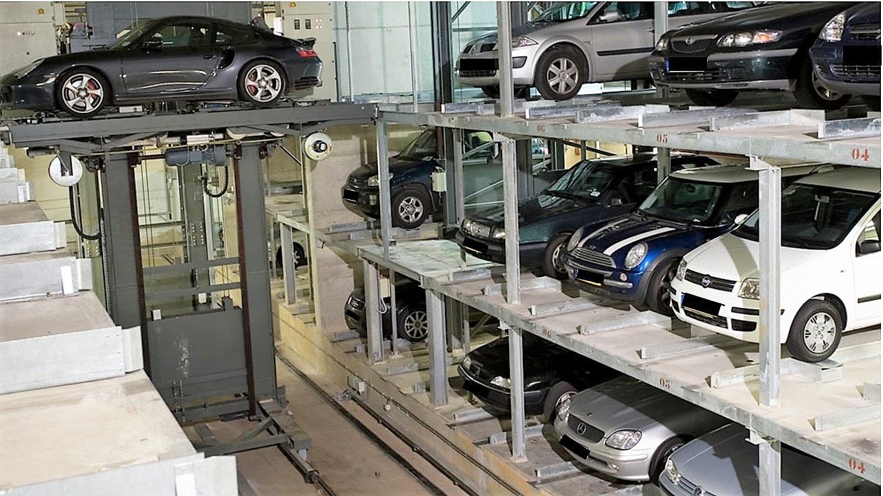Automatische Parkanlage